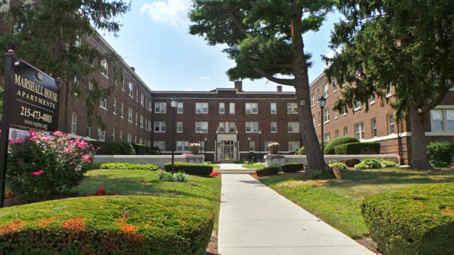 Marshall House Apartments in Lansdowne, PA