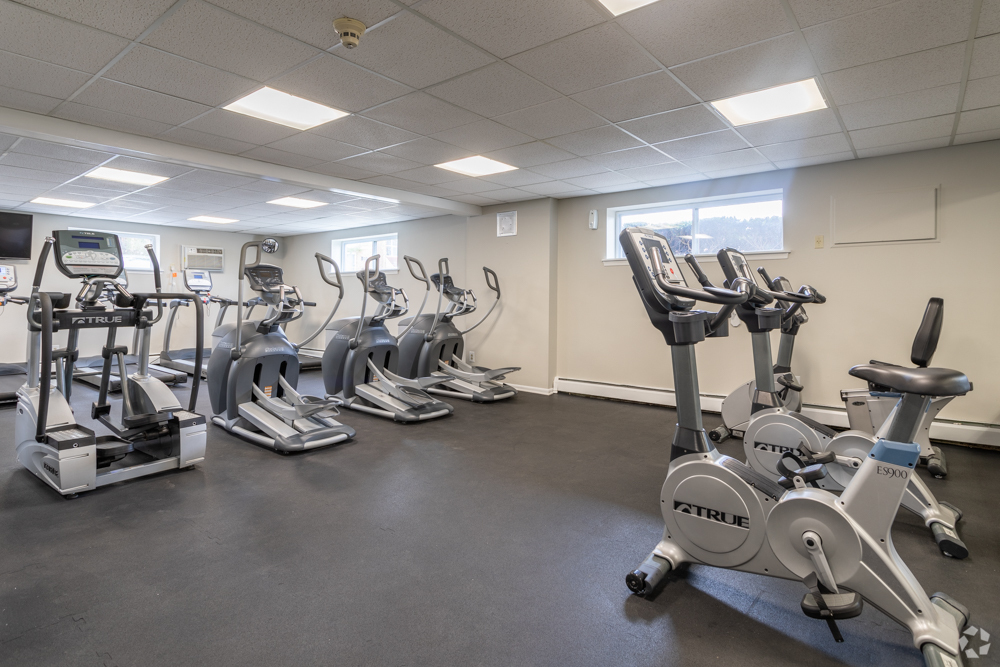 On-site fitness center at Secane, PA apartments