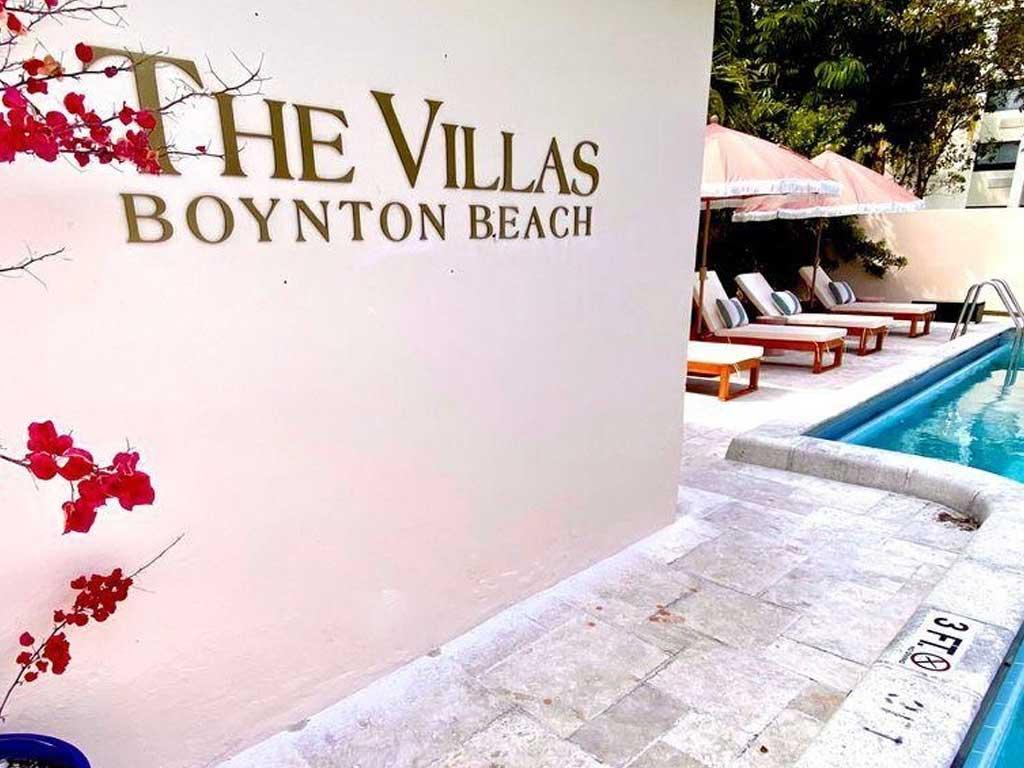 The Villas at Boynton Beach swimming pool